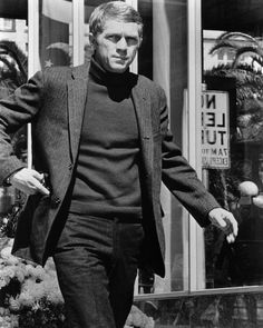Steve McQueen, studio still from Bullitt (1968)