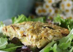 Paleo Recipe - Pesto Chicken and Sweet Potato Breakfast Bake