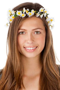 Flower crown - Daisy Lane Head Wrap  outfit 4