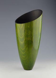 Collectors of Wood Art - Artist Portfolio Wood Turning Lathe, Wood Turning Projects, Wood Projects, Woodworking Projects, Lathe Projects, Wood Vase, Wood Bowls, Wood Sculpture, Wood Crafts