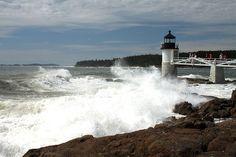 Hurricane Bill at Marshall Point by justinrussell, via Flickr