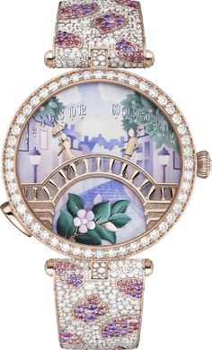 Love Stories - Poetry of Time - Van Cleef & Arpels Amazing Watches, Beautiful Watches, Cool Watches, Ring Watch, Bracelet Watch, Expensive Watches, Van Cleef Arpels, All That Glitters, Lucky Charm