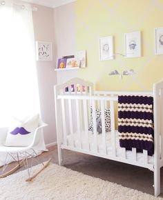 Small and Bright Neutral Yellow Nursery — Baby Boy Room | Chic & Cheap Nursery™