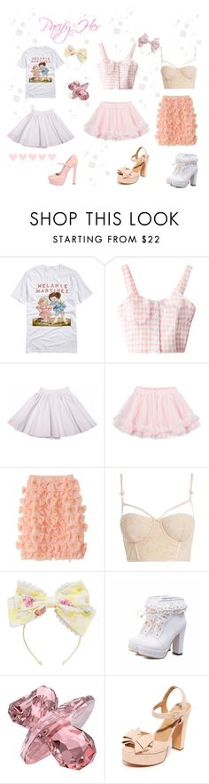 """""""♡ Melanie Martinez Pacify Her Looks ♡"""" by kaylalovesowls ❤ liked on Polyvore featuring Maison About, LILI GAUFRETTE, Honour, Swarovski, Michael Kors and RED Valentino"""
