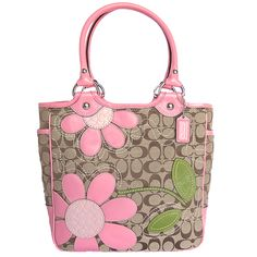 One day soon enough you will be old enough for a purse...and every girl needs a coach bag.