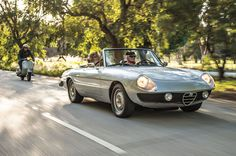 1974 Alfa Romeo Spider Veloce 2000 Front Three Quarter In Motion