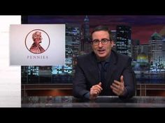 """Pennies: """"They're not even worth what they're worth."""" Last Week Tonight with John Oliver: Pennies (HBO) - YouTube"""