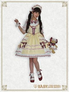 Little Girls Sweet Ribbon jumper skirt