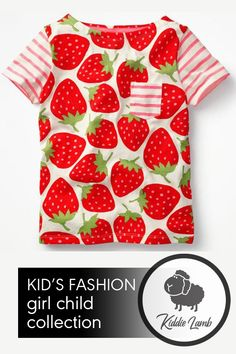 Squeeze Me Strawberry Pop T-Shirt Girl Outfits, Casual Outfits, Trendy Kids, Cute Tshirts, Mom And Dad, Best Sellers, Lamb, Onesies, Kids Fashion