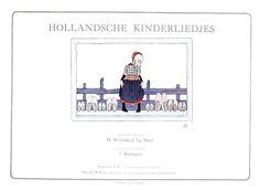 Willebeek le Mair «Hollandsche kinderliedjes» Иллюстратор Willebeek le Mair Автор Julius Röntgen Страна США, Великобритания Год издания 1917 Издательство Augener, David Mckay