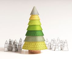 PineStack - Stacking toy on Behance