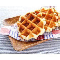 クミタス レシピ 米粉のワッフル (小麦・卵・乳不使用)