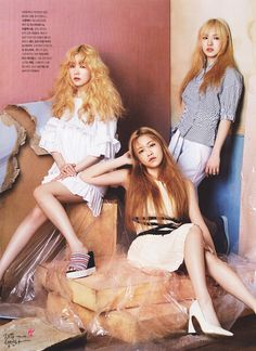 The Celebrity May 2015 Issue feat. Red Velvet (레드벨벳) - Irene (아이린), Yeri (예리), & Wendy (웬디)
