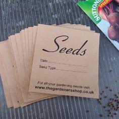Seed Envelope