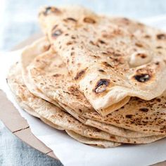 Wheat-free flatbreads