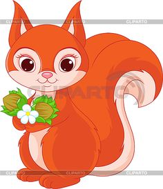free cute squirrel clip art - Google Search | Teacher Portfolio ...
