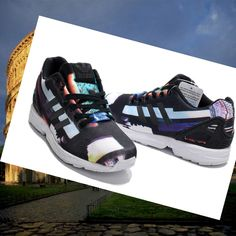 release date 0bdfa ae3ca Adidas Originals ZX Scarpa Flow Unisex Coloured Graphics HOT SALE! HOT  PRICE!
