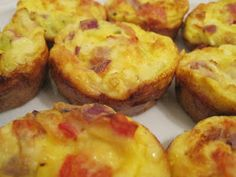 Mini Crustless Quiches - a Slimming World recipe Crustless Quiche Slimming World, Low Carb Recipes, Cooking Recipes, Tasty, Yummy Food, Skinny Recipes, Skinny Meals, Slimming World Recipes, Recipes From Heaven