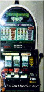 $Big$ Jackpot on Triple Diamond Slot