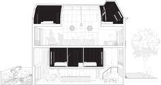 Shift transforms derelict Rotterdam house into matroesjka-house