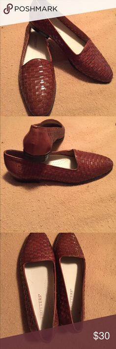 I just added this listing on Poshmark: Women's s TROTTERs Brown weave leather shoes9M. #shopmycloset #poshmark #fashion #shopping #style #forsale #Trotters #Shoes
