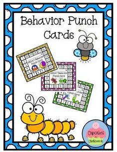 Behavior punch cards are a great tool for behavior management. You can use them in several different ways to meet the individual needs of the students in your classroom. For example, you can punch the card for positive behavior for the entire day or positive behavior Behavior Interventions, Behaviour Chart, Positive Behavior Management, Classroom Management, Individual Behavior Chart, Behavior Punch Cards, First Day Of School Activities, Student Behavior, 2nd Grade Classroom