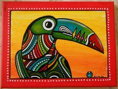 """Tableau de """"Toco"""" le toucan : Peintures par sylphide"""