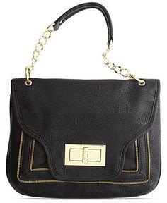 75782bd48279 Olivia + Joy Lolita Large Flap Shoulder Bag Handbags   Accessories - Macy s