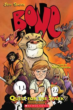 Love The Stacks - Bone 3 Quest for the Spark by Jeff Smith, Tom Sniegoski, $6.00 (http://www.lovethestacks.com/bone-3-quest-for-the-spark-by-jeff-smith-tom-sniegoski/)