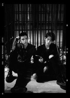 """D.O e Baekhyun álbum repackage """"LOTTO"""""""