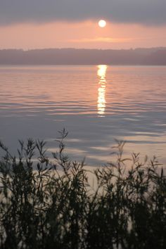 Sunrise at Reflections on the Water