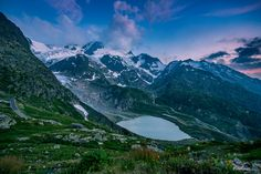 At the glaciers - TomFear Mount Everest, Mountains, Sunset, Landscape, World, Places, Nature, Travel, Switzerland