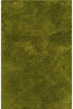 Style Haven Indoor Green Shag Area Rug