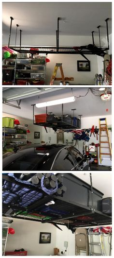 Great suspension rack for the rack to fill up dead space (pictures from Amazon customer)
