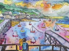 This is by welsh artist Rhiannon Roberts.