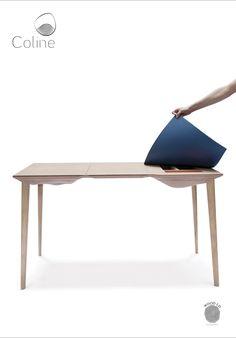 COLINE Par Quentin Gouailler Promo 2016  Bureau  #ecolebleue #ecolebleueglobaldesign #designglobal #globaldesign #design #designer #youngdesigner #jeunedesigner  #bureau #bois #wood