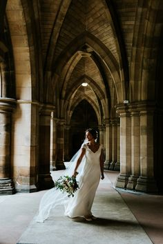 A Bespoke Dana Bolton Gown for a French/ Scottish Wedding in Glasgow Tartan Wedding, Destination Weddings, Classic White, Wedding Stationery, Bride, Elegant, Purple, Wedding Dresses, Scotland