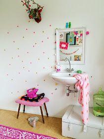 Wimke: Confetti Wall DIY