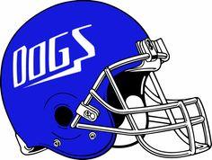Bulldogs Pictures for School | Michigan High School Helmet Project - Team Mascot: Bulldogs