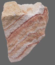 red rainbow rock