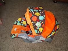 car seat cover - will match brown stroller