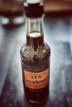 A British food icon! - Lea & Perrins Worcestershire Sauce