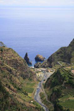 Madeira, Portugal...Ribeira da Janela...