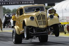 Wheelstand at Indy 2013