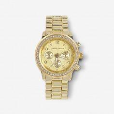 Gold Glam Watch   Urban Peach Boutique