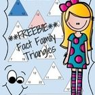 Please enjoy this freebie of my fact family triangles for the zero and five families.  Learning math facts in this way teaches students to link all...