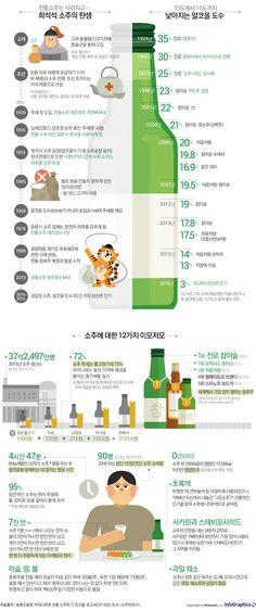 이슬과 땀의 술, 소주 한잔 하실래요? - 조선닷컴 인포그래픽스 - 인터랙티브 > 라이프