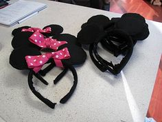 Another How to Make Minnie Mouse Ears