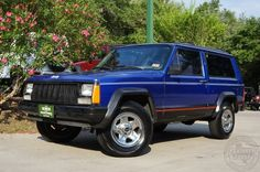Hard to Find 1995 2 Door Cherokee Sport - $4,995 - RWD, Automatic, 155k Miles. More Photos at http://www.selectjeeps.com/inventory/view/8444694/1995-Jeep-Cherokee-2dr-Sport-League-City-TX