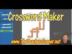 Crossword Puzzle Maker | Highly Customizable | Free with No Registration Required